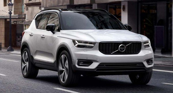 Volvo XC40, White, Front Angular Look
