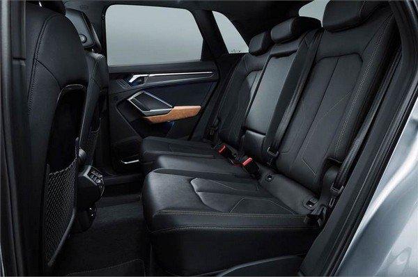 2019 Audi Q3 rear seat