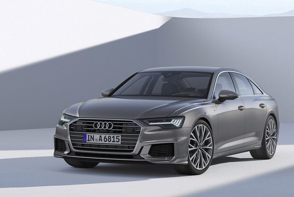 Audi A6 2019 India front look