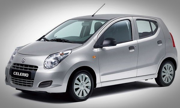 Maruti Suzuki Celerio, silver, front left angular look