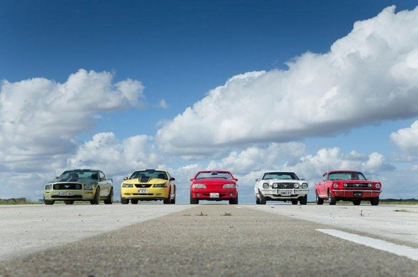 Generations of Ford Mustang