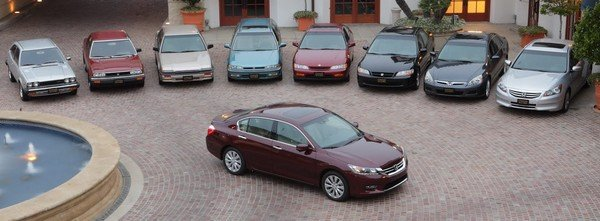 Honda Accord generations