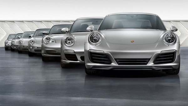 Porsche 911 is the most successful models from the German automaker