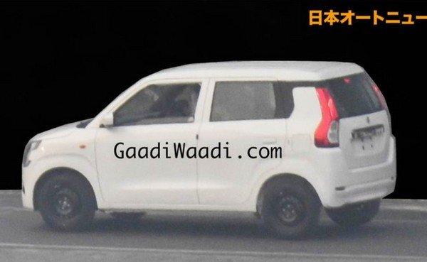 Maruti Suzuki WagonR, Left Angular Look