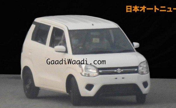 Maruti Suzuki WagonR, White Colour, Front Angular Look