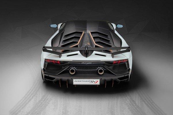 Lamborghini Aventador SVJ 63 2019 rear look