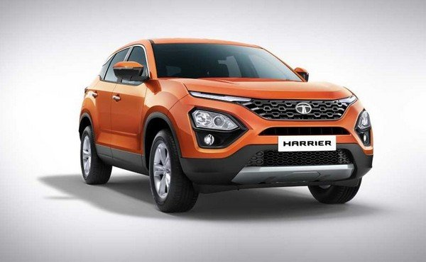 All-new Tata Harrier, Front Angular Look