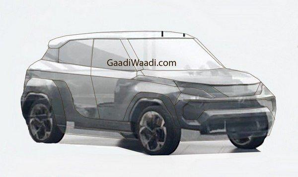 Tata Hornbill Concept sketch