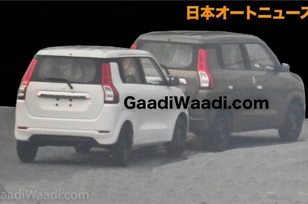 Maruti Suzuki WagonR 2019, Rear Angular Look