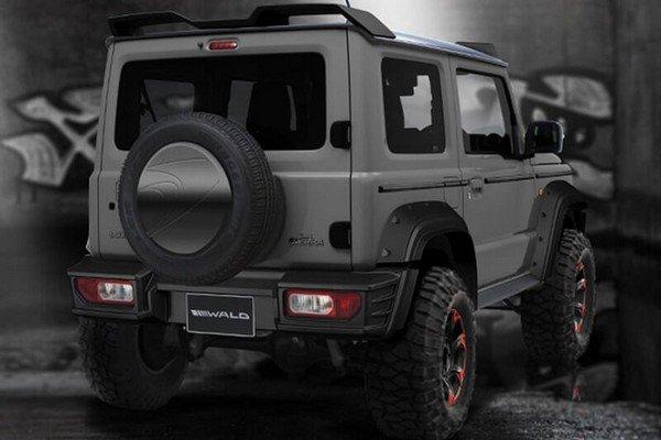 Suzuki Jimny rear look