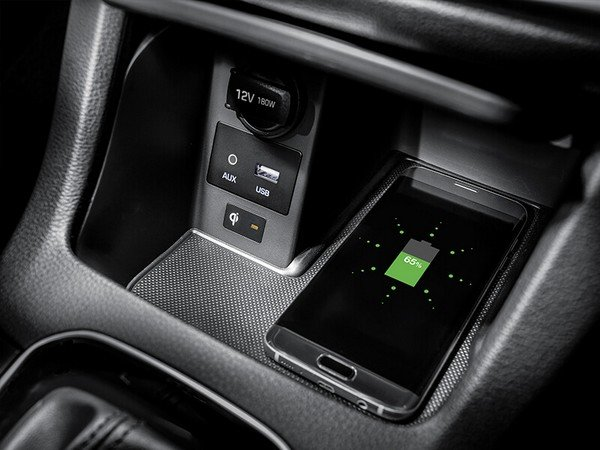 Hyundai wireless charger feature