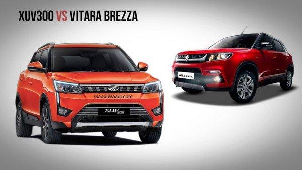 Mahindra XUV300 and Hyundai Creta