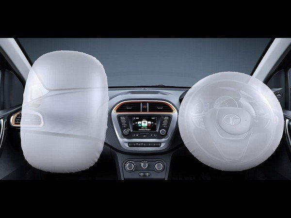 Tata Tiago NRG interior airbags