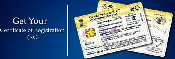 Certificate of registration in India