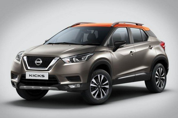 Nissan Kicks 2019 India front look