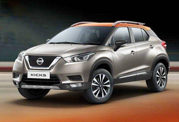 Nissan Kicks 2019 front look