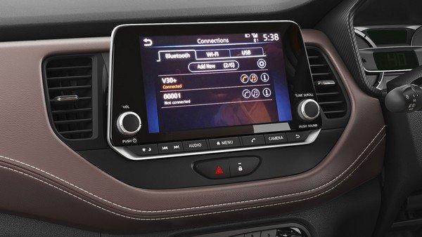 Nissan Kicks 2019 touchscreen