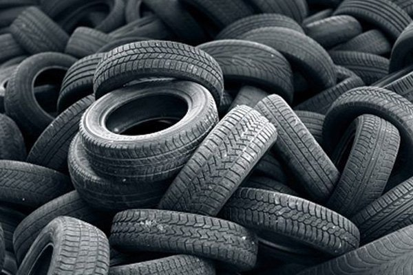 many old car tires