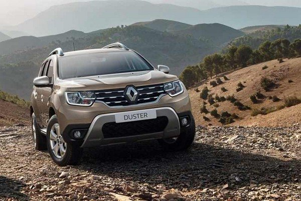 Renault Duster India front look off-road