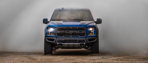 Ford F-150 Raptor front look
