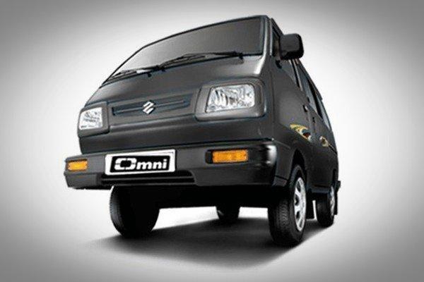 Maruti Omni black front look
