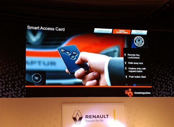 Renault Capture smart techs
