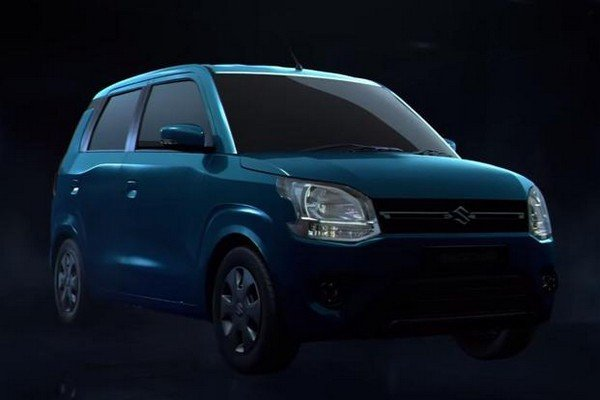 Maruti Suzuki WagonR 2019, Blue Colour