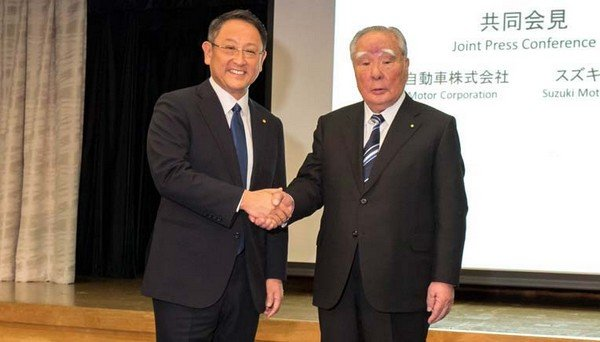 Toyota and Suzuki partnership