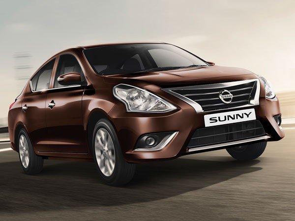 Nissan Sunny 2014, Brown