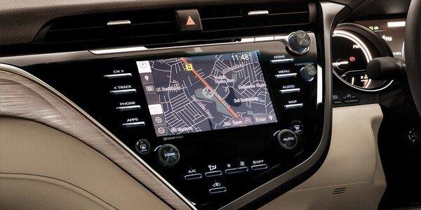 Toyota Camry 2019 interior touchscreen