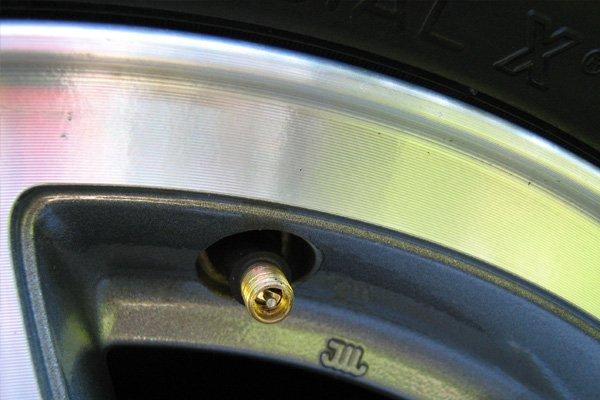 a car valve stem