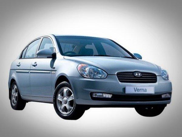 old Hyundai Verna