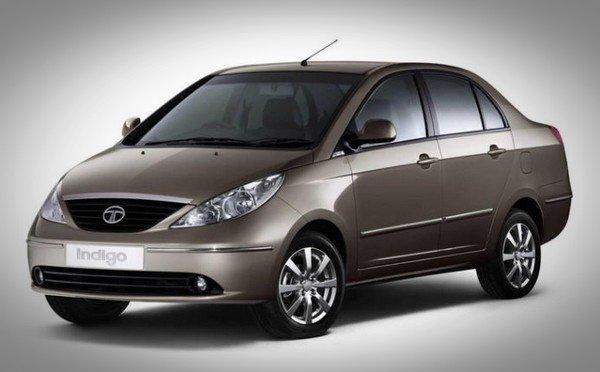 Tata Manza 2007 brown color