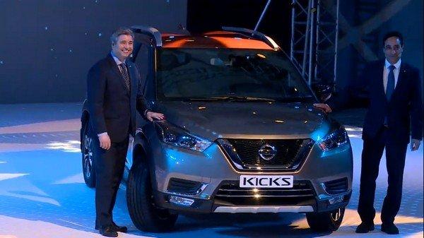 Nissan Kicks 2019 black front