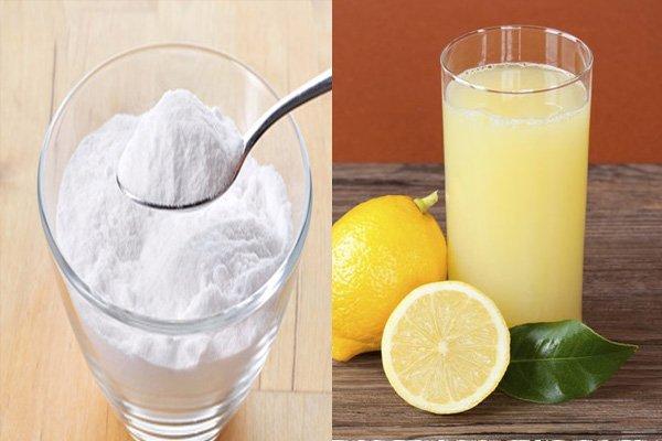 tartar paste and lemon juice