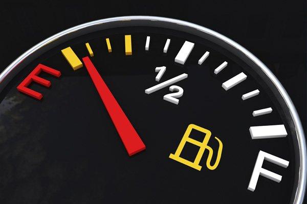 empty gas alert