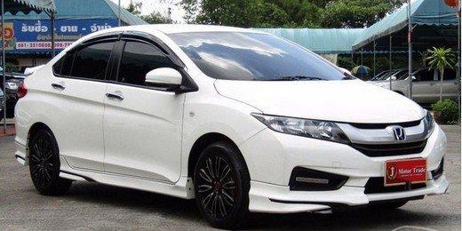 White Thai-spec Honda City comes with hybrid option