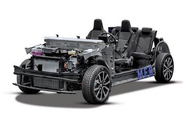 MEB prototype developed by Volkswagen