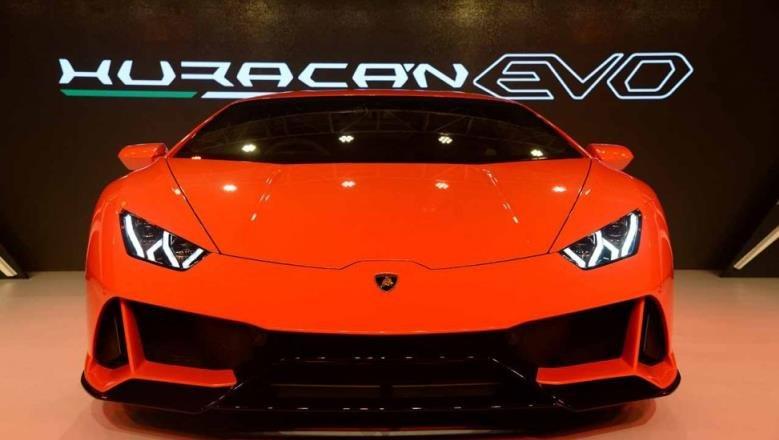 Lamborghini Huracan Evo launch event