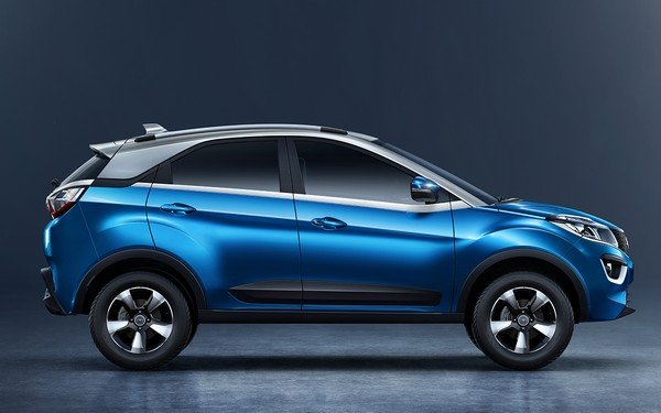 all-new Tata Nexon, right angular look