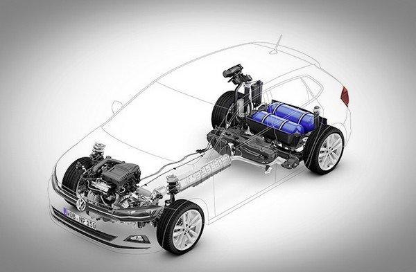 Volkswagen car structure