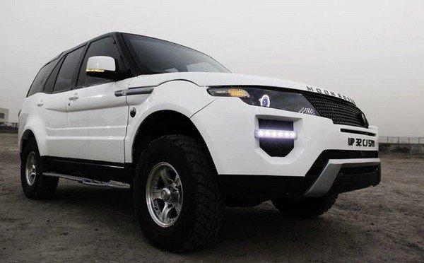Moon Rover Tata Safari Range Rover