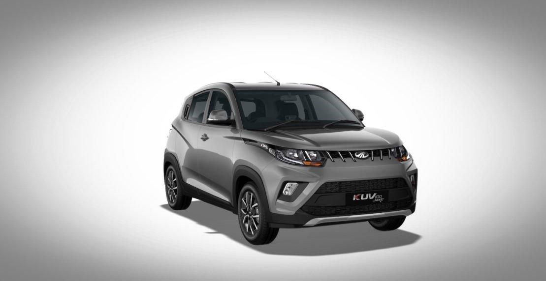 Mahindra KUV100 exterior grey colour