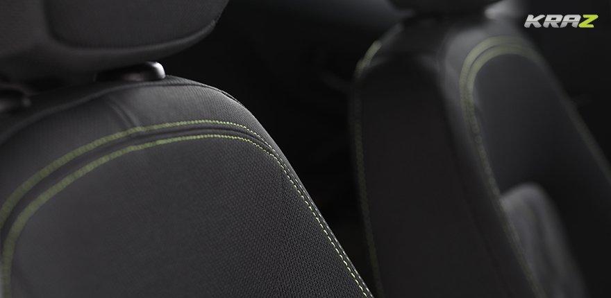Tata Nexon India 2018 Interior seat stick