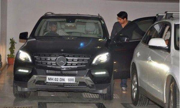 Siddhard Malhotra's Mercedes ML-Class
