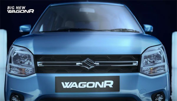 Maruti WagonR 2019 front fascia
