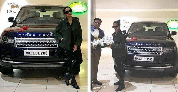 Malaika Arora Khan's Range Rover Vogue