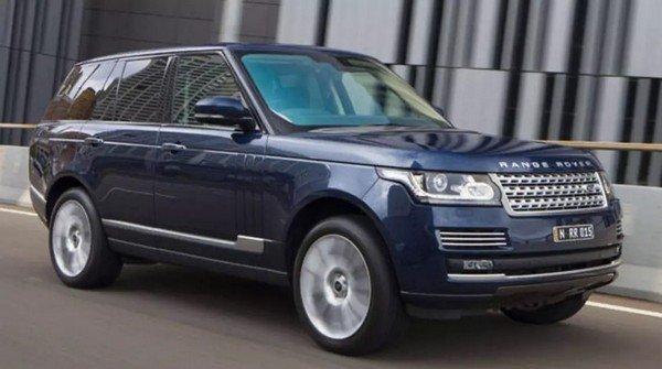 Range Rover Vogue SE blue colour