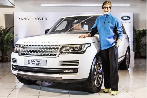 Range Rover of the Bachchan is the top-of-the-line version