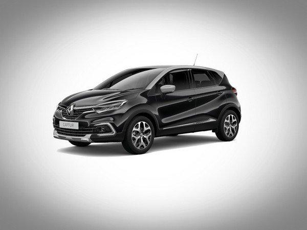 Renault Captur 2017 diamond black with mercury roof colour